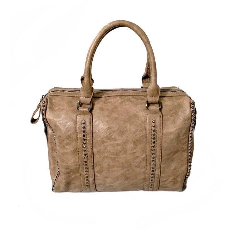 ANTIK KRAFT Taupe Handbag