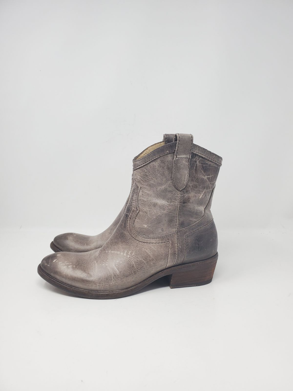 FRYE WOMENS LEATHER BOOTS