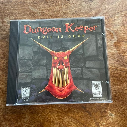 Dungeon Keeper Evil Is Good CD-ROM PC
