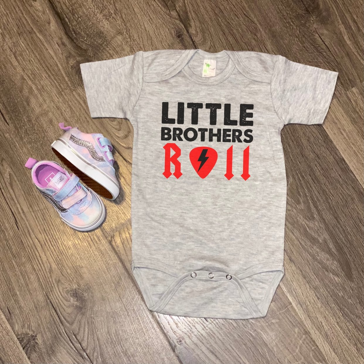 All Sizes-Baby Onesie: Little Brothers