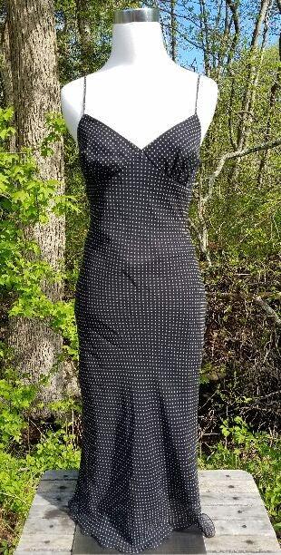 Black & White polkadot dress XOXO (NWT)