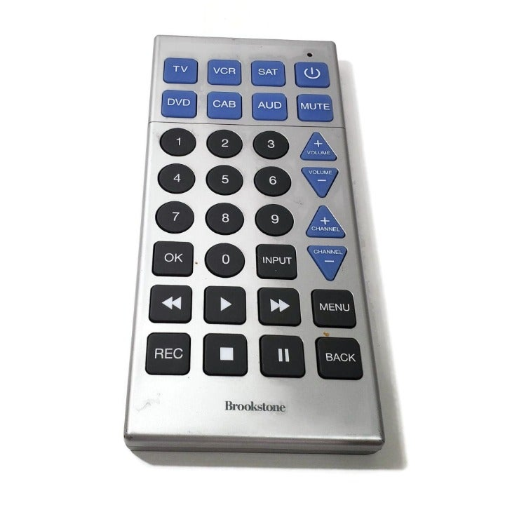 Brookstone Jumbo Remote Control 6 Device