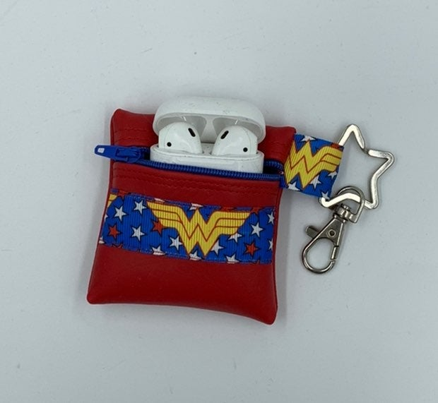 Wonder Woman Faux Leather AirPods Case