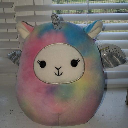 "Squishmallow Lucy-May 7"" Llama Pegacorn"