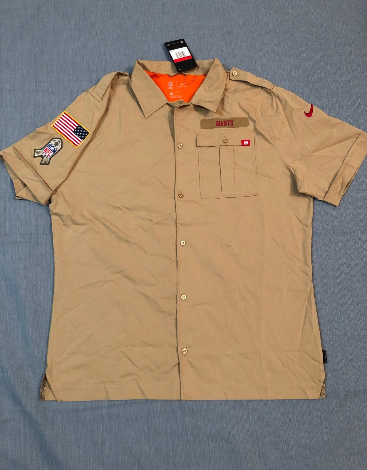 Men's size LARGE Nike Salute to Service