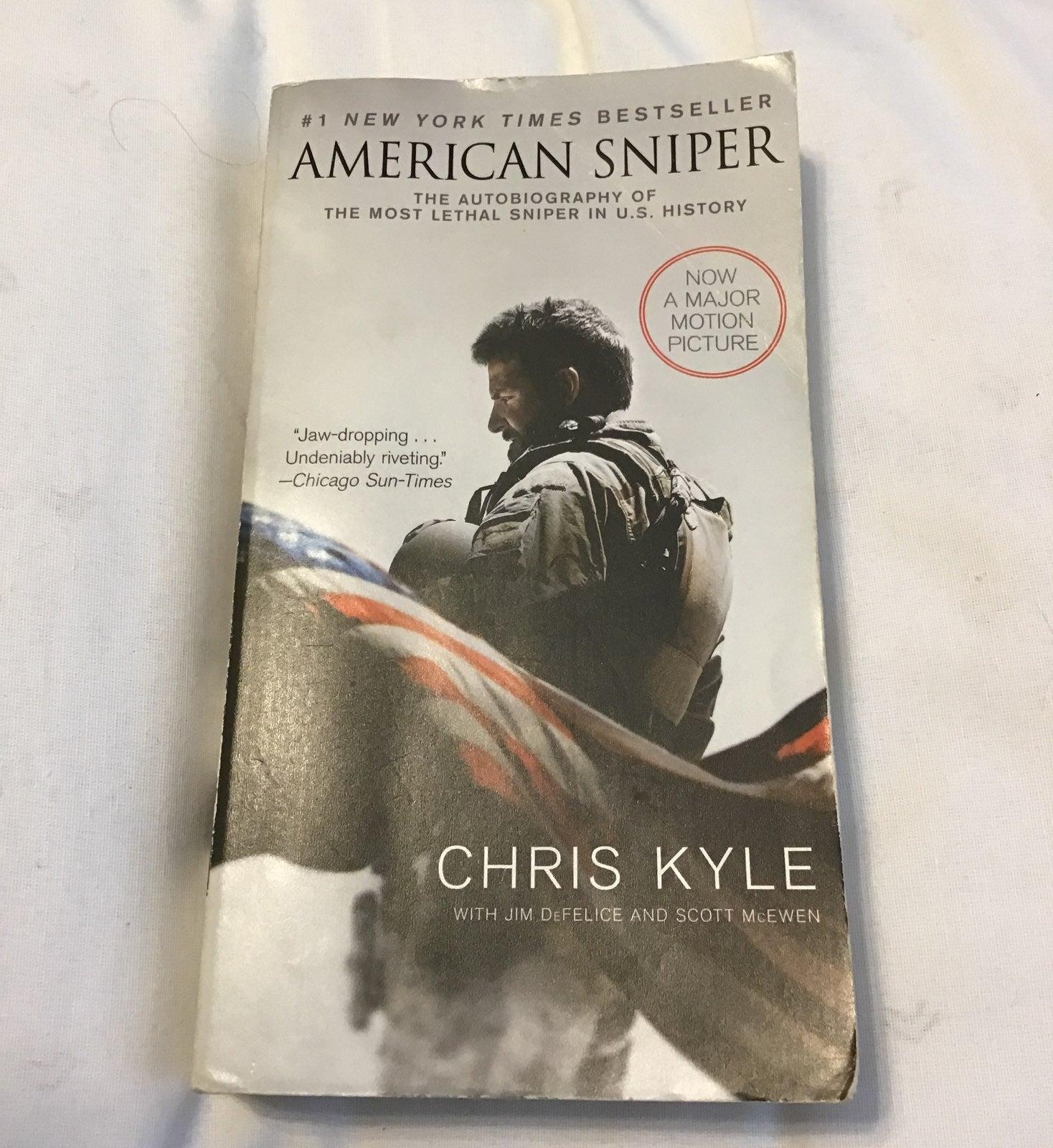 American Sniper- Chris Kyle novel