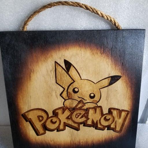 Nintendo Pokemon With Pikachu Portrait