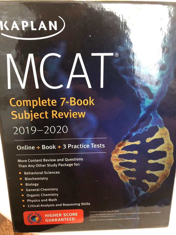 2019-2020 Kaplan MCAT complete 7 book