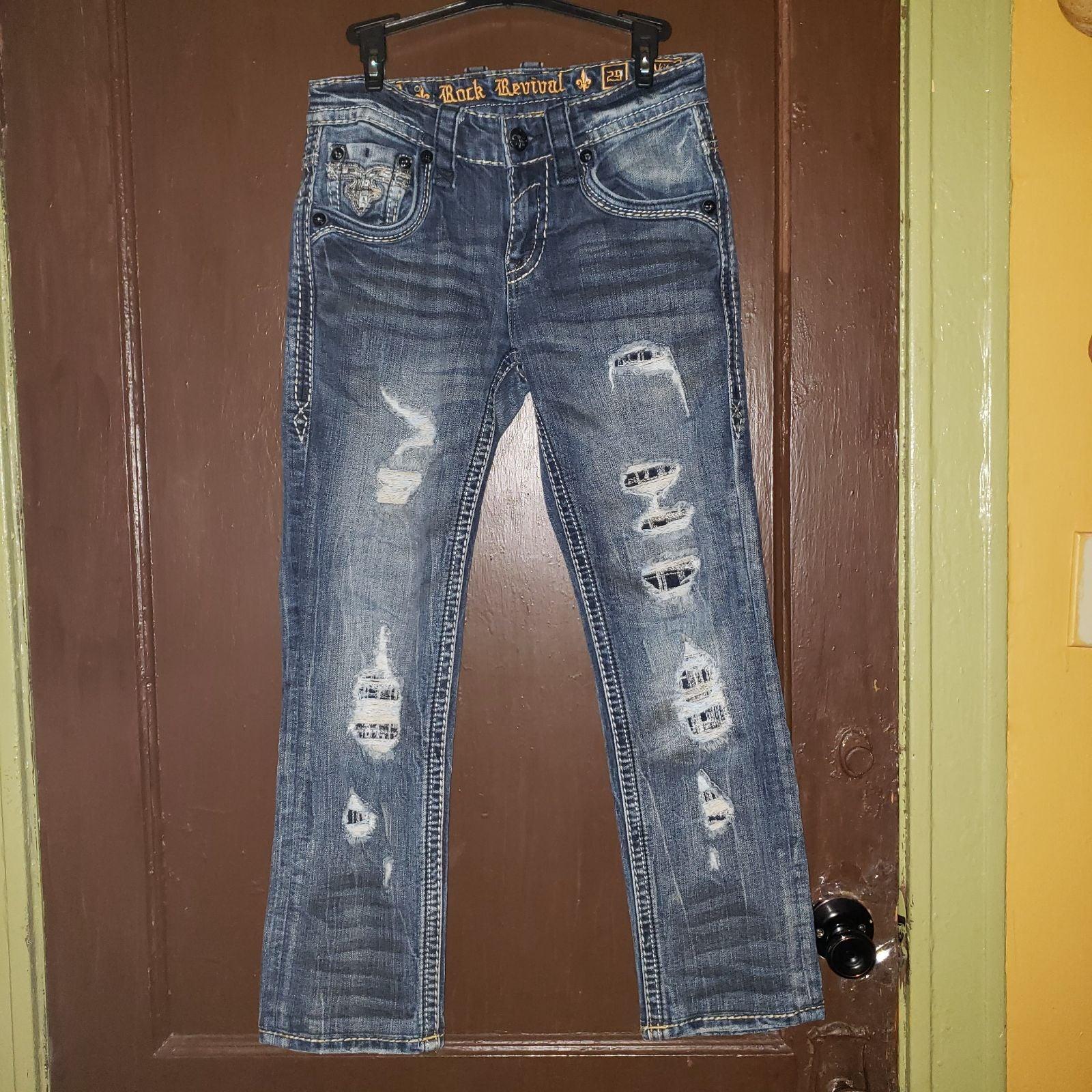 Rock Revival Akito slim straight jean