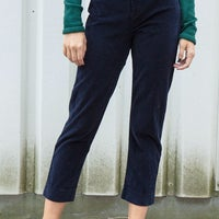 colours and striking top quality big clearance sale Brandy Melville navy corduroy pants