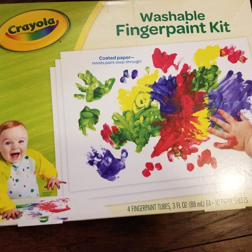 New baby/toddle finger paint set