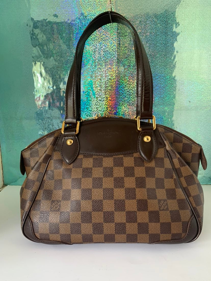 Louis Vuitton Damier Verona PM Handbag