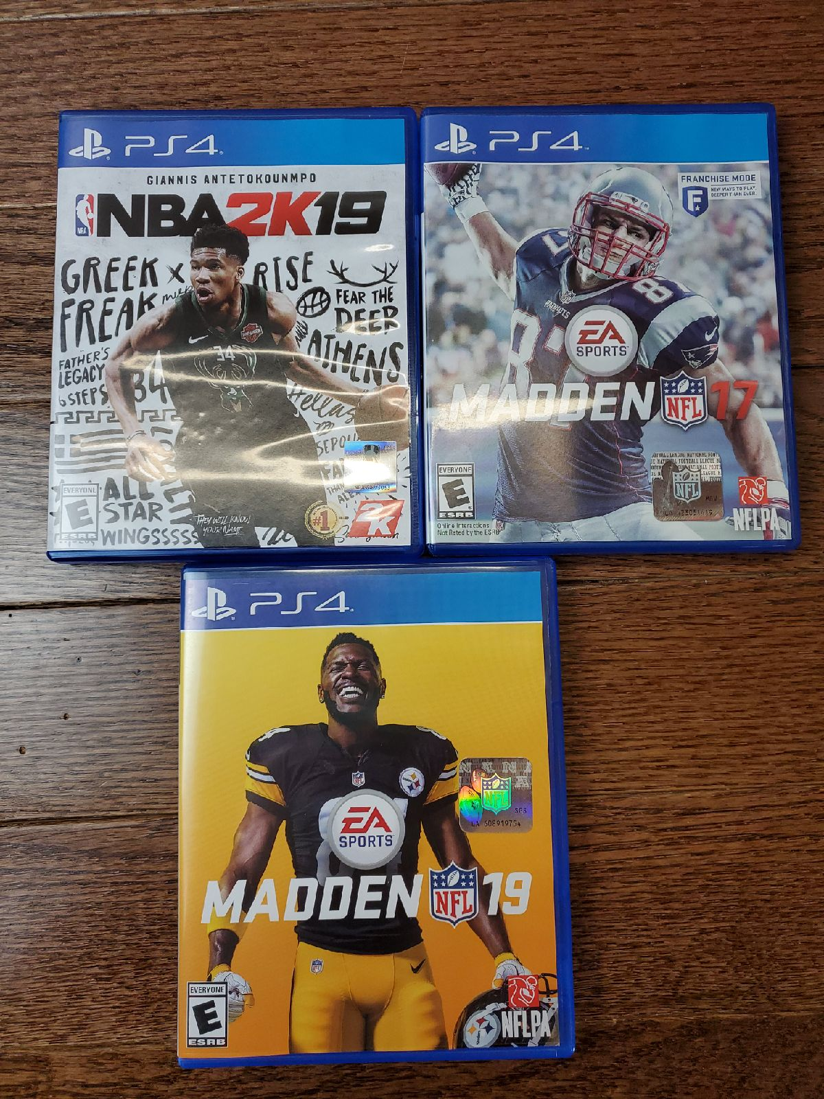 PS4 Sports Game Lot