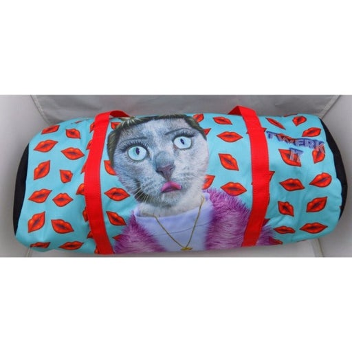 Pets Rock Twerk It Cat Duffel Bag Red Ca