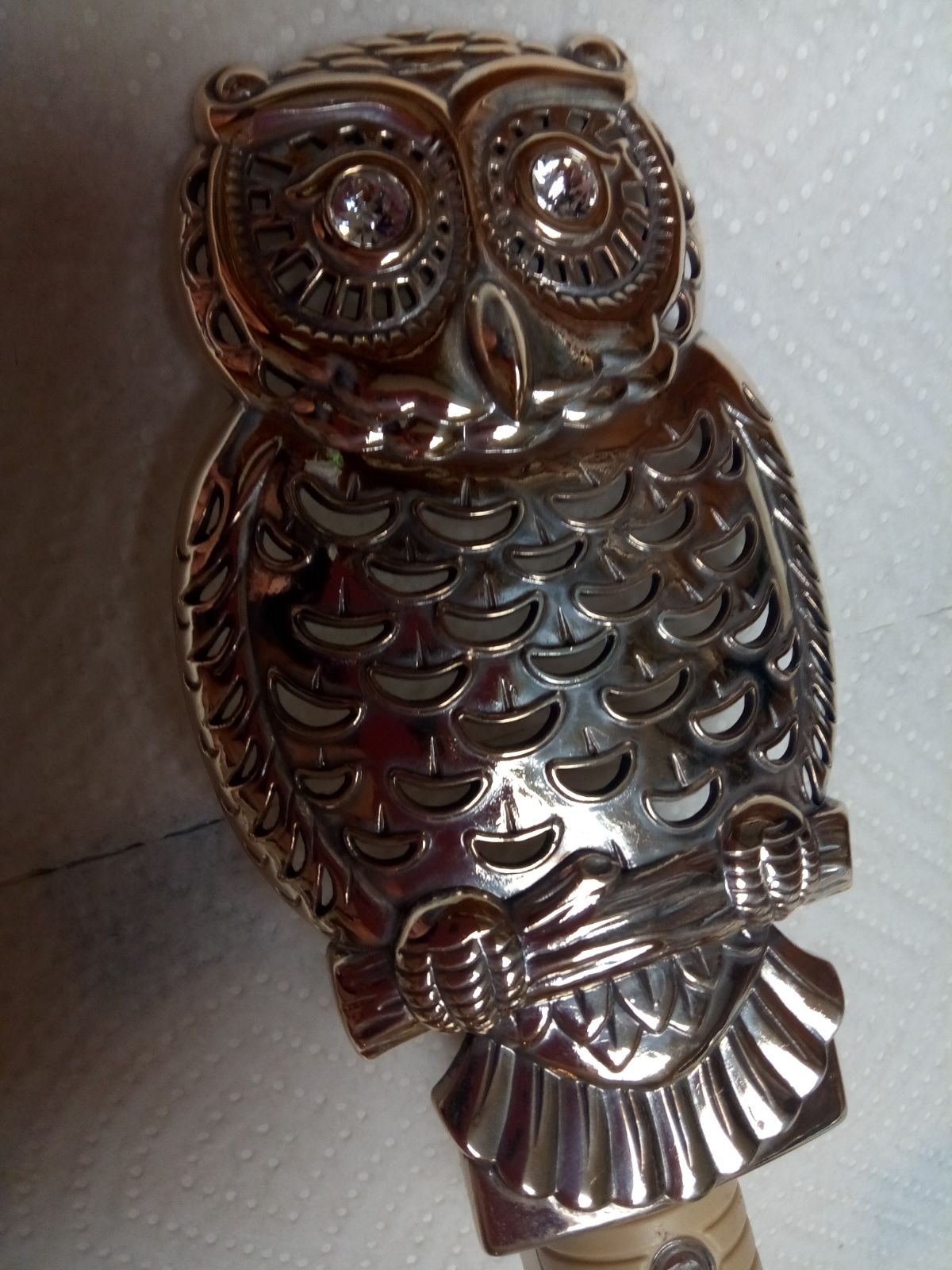 Brighton Owl Night Light Plug-in *USED*