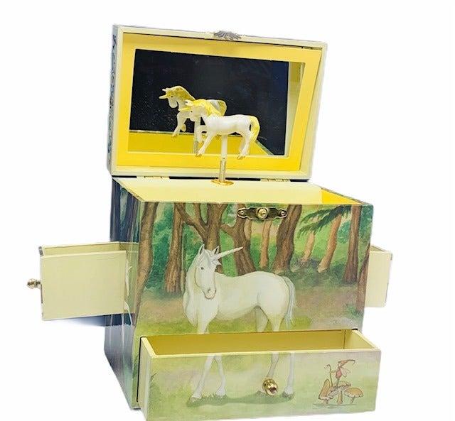 Unicorn music jewelry box Enchantments