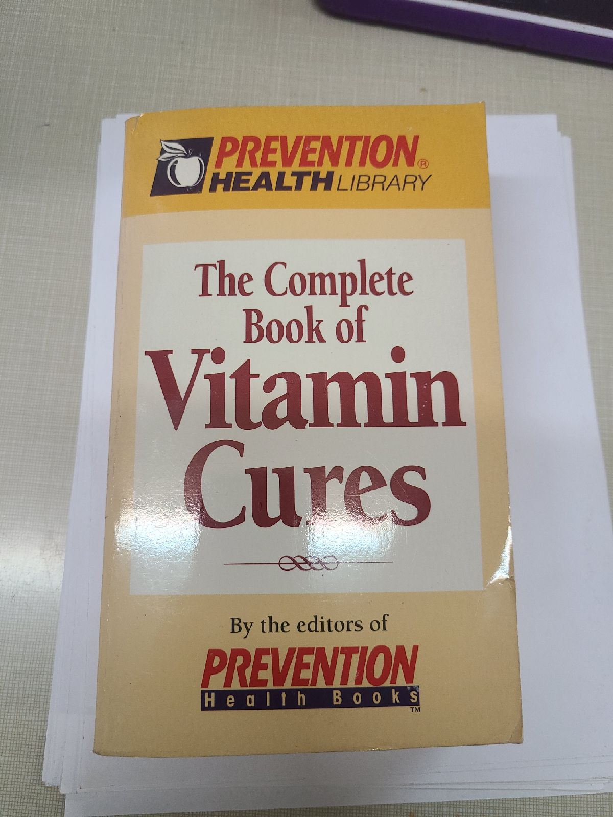 Complete Book of Vitamin Cures