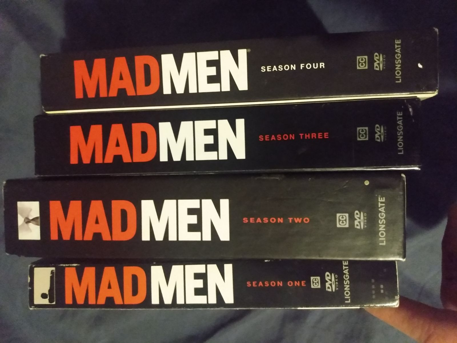 Mad Men. Complete first 4 seasons