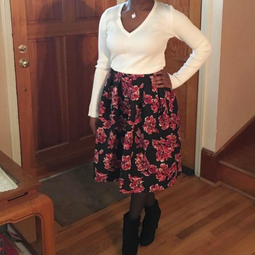 FOREVER 21 midi full skirt