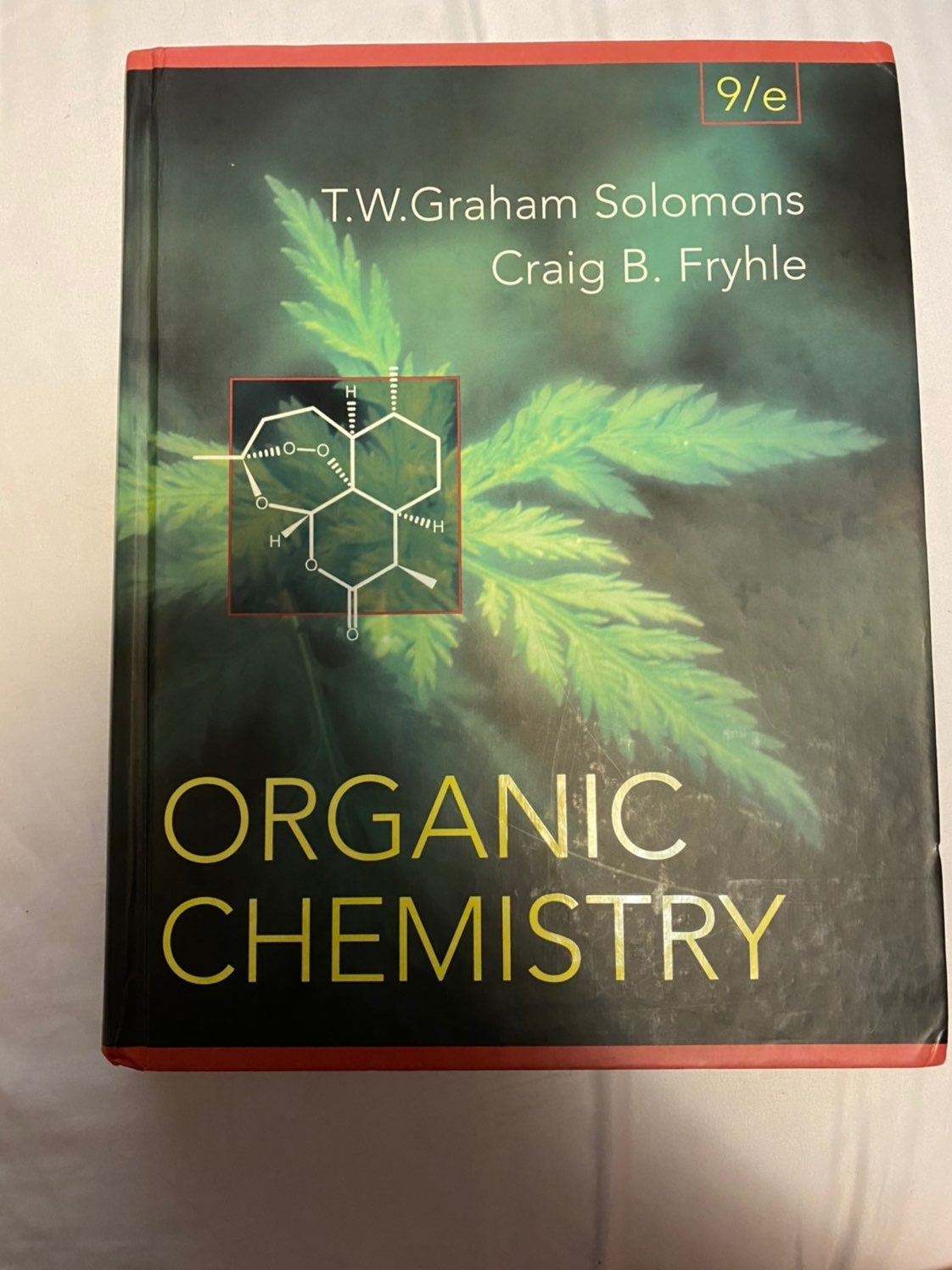 Organic Chemistry 9th Edition by Solomon
