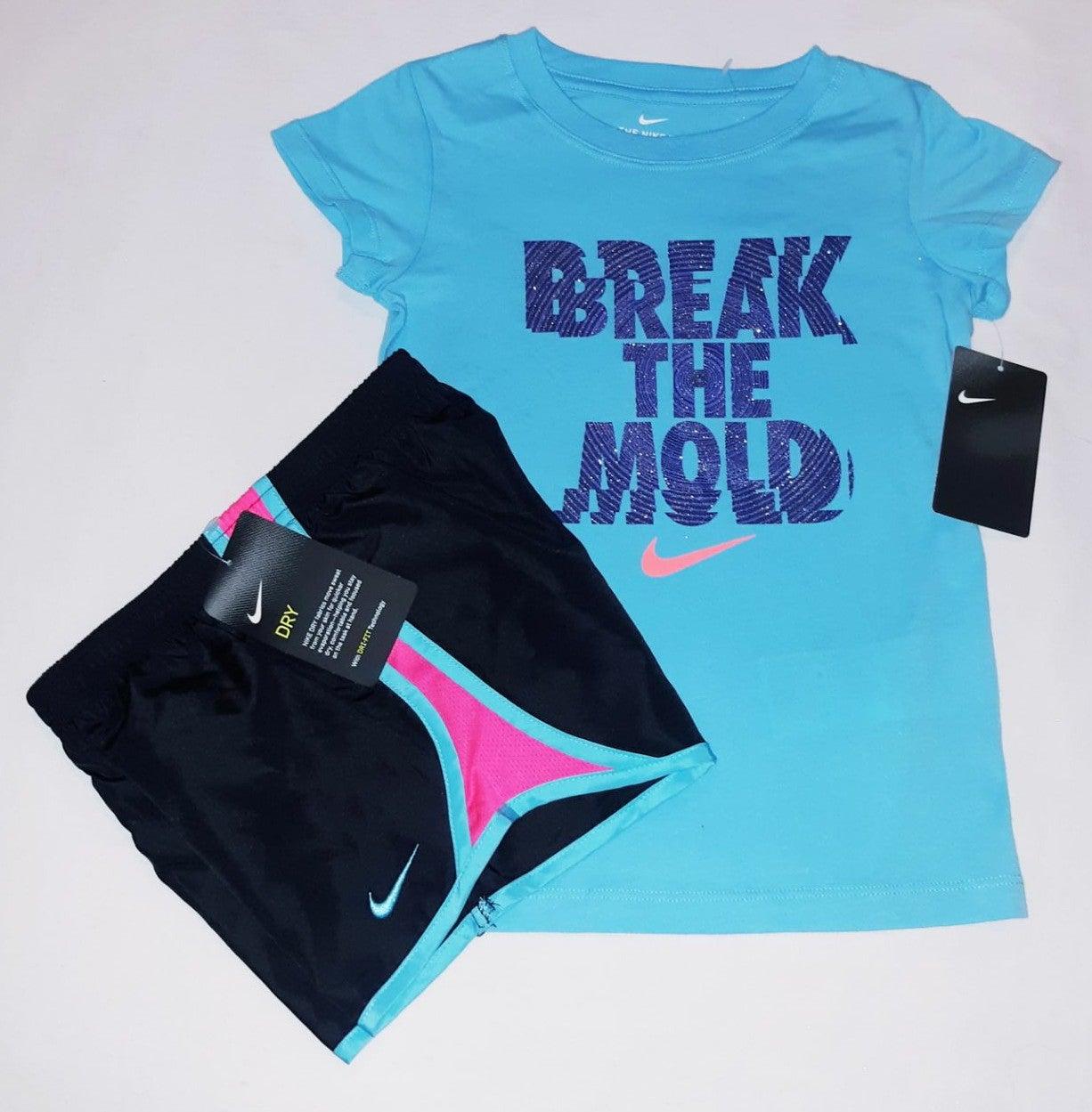 Nike Girls Youth 2pc Short Set