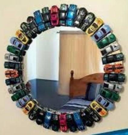 MatchBox Cars Mirror