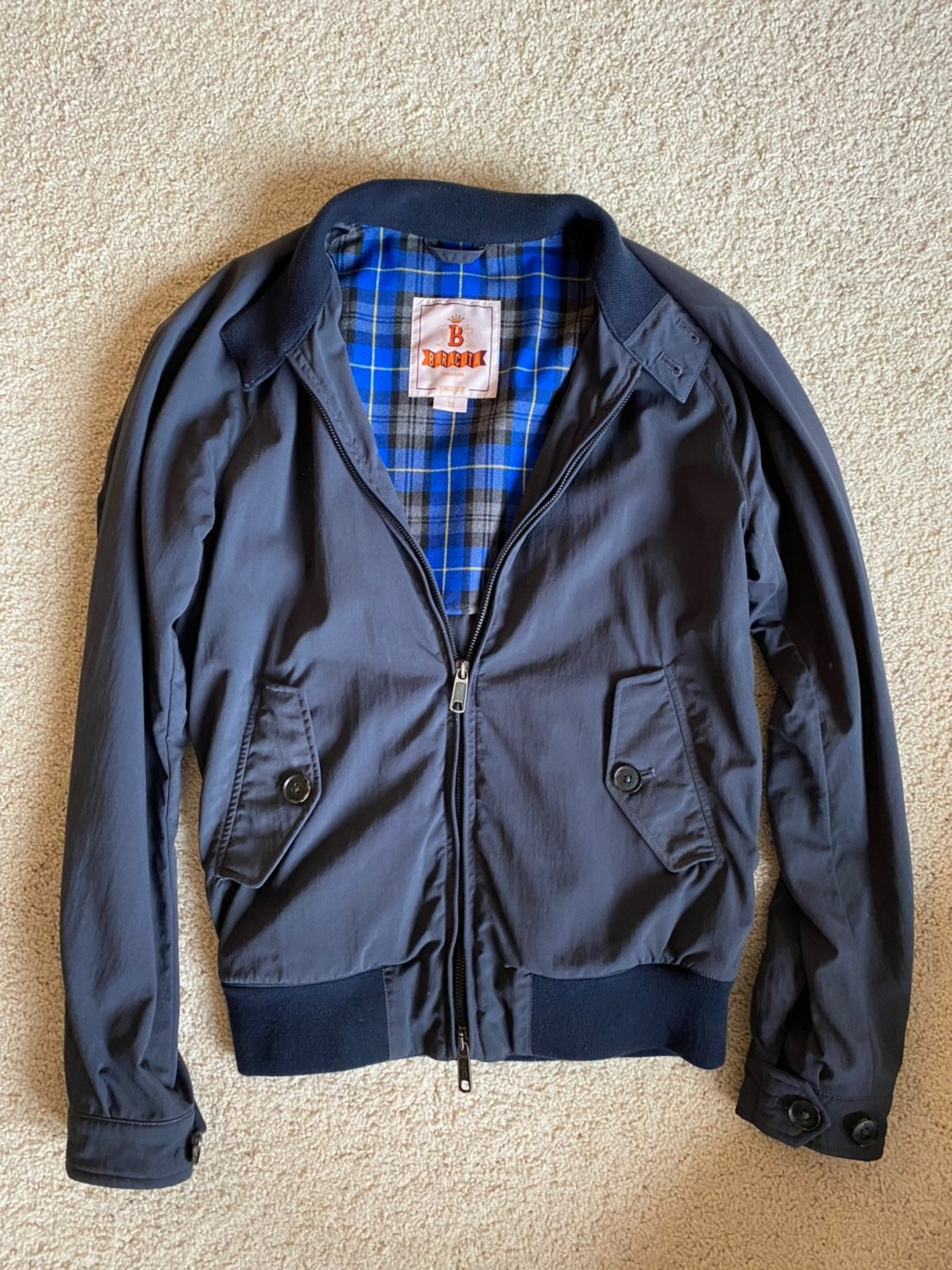 Baracuta G40 Harrington Jacket Exclusive
