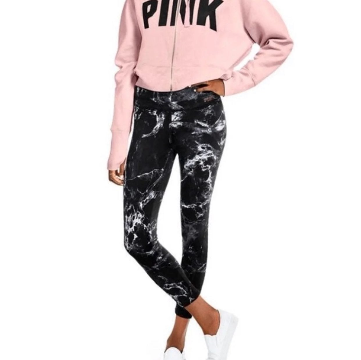 VS Pink Ultimate Marble Ankle Legging S