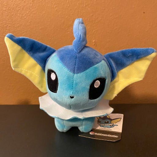 Pokemon Center Poke Doll Plush Vaporeon