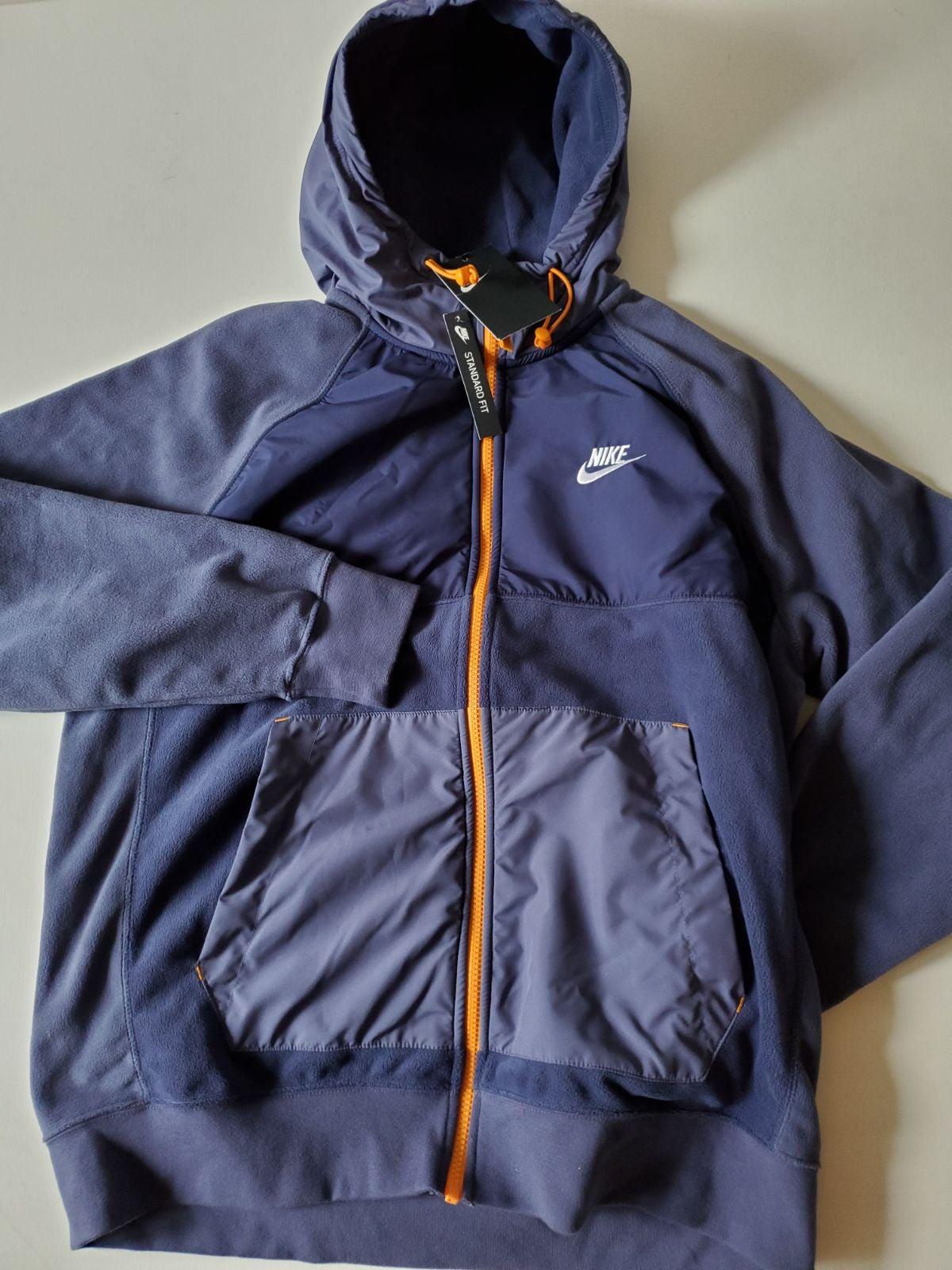 Nike  Men's Nike Full-Zip Fleece Hoodie