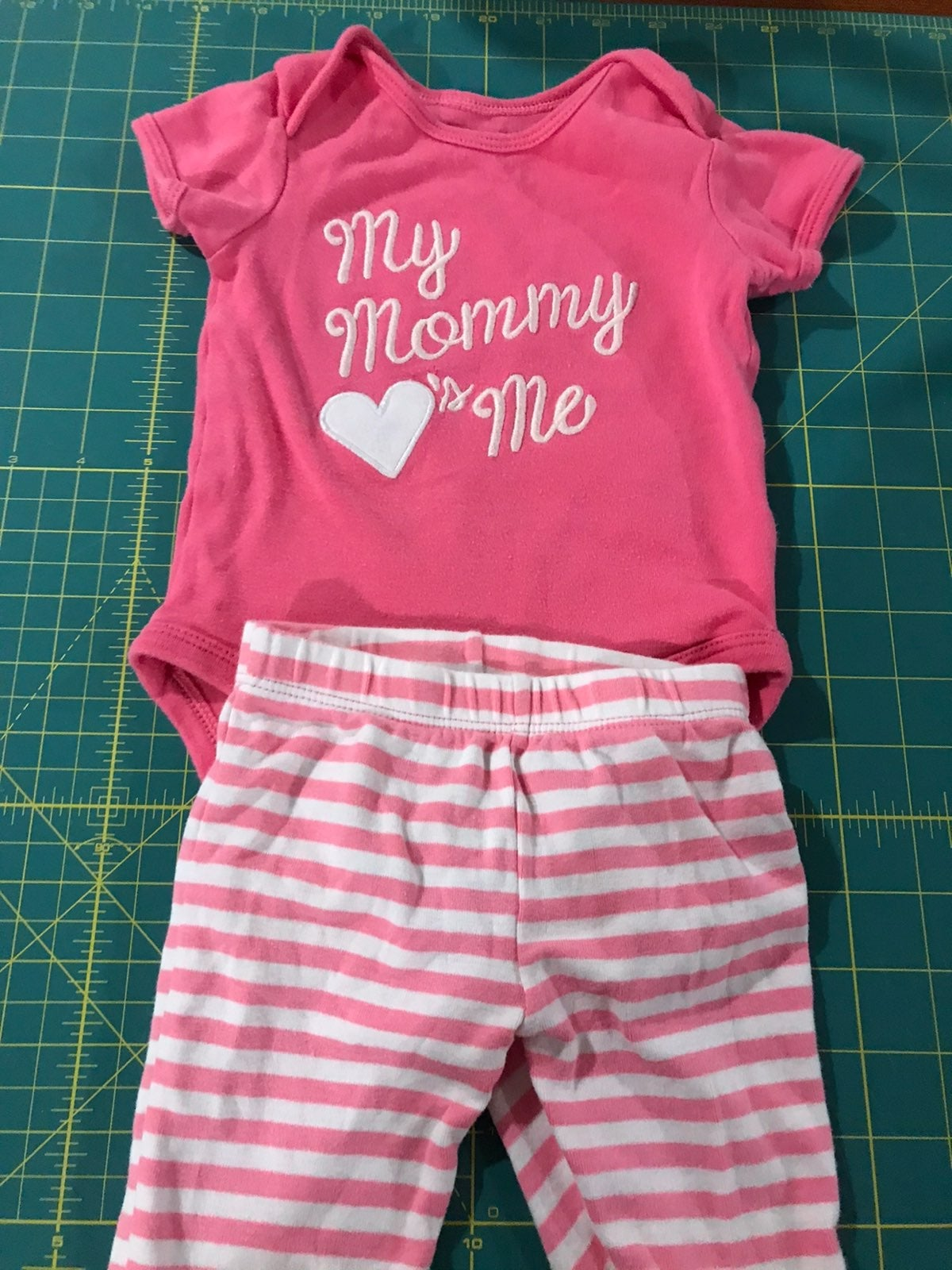 Mommy loves me outfit 6 months