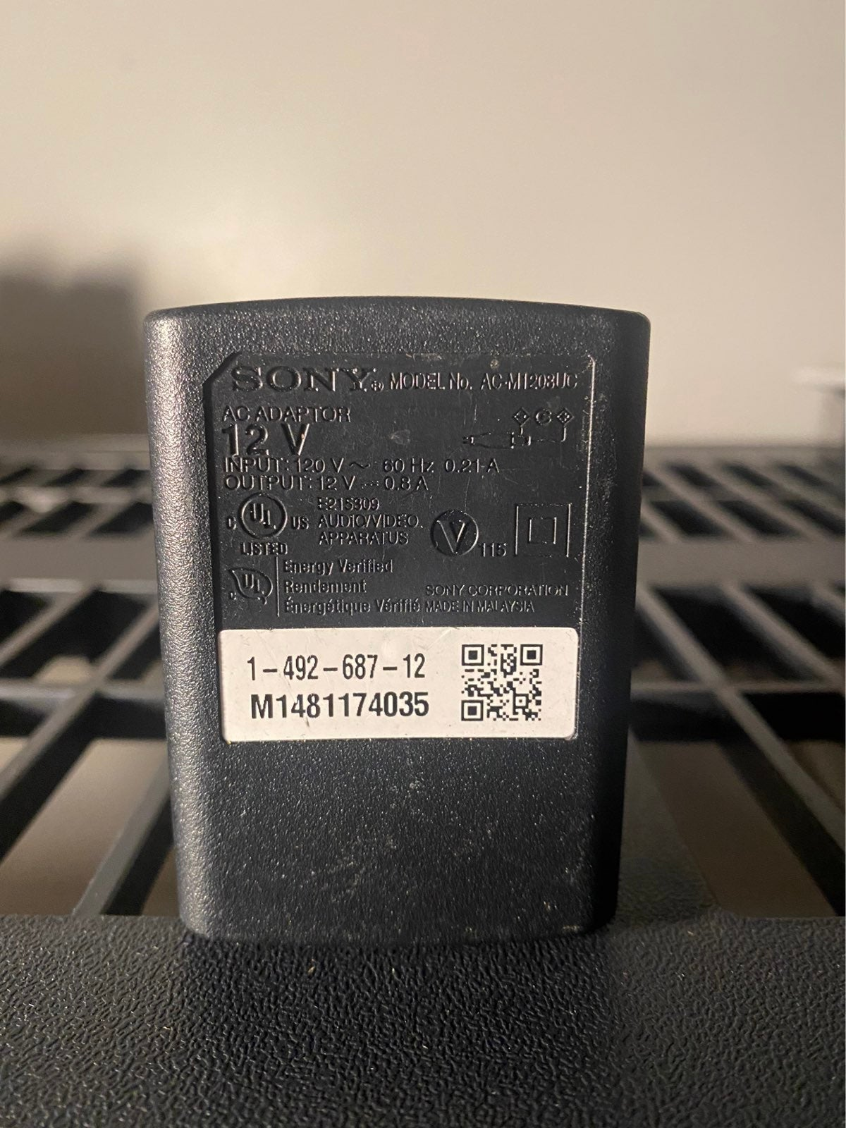 Sony 12V Adapter AC-M1208UC