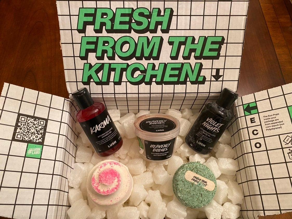 Lush January Kitchen Box