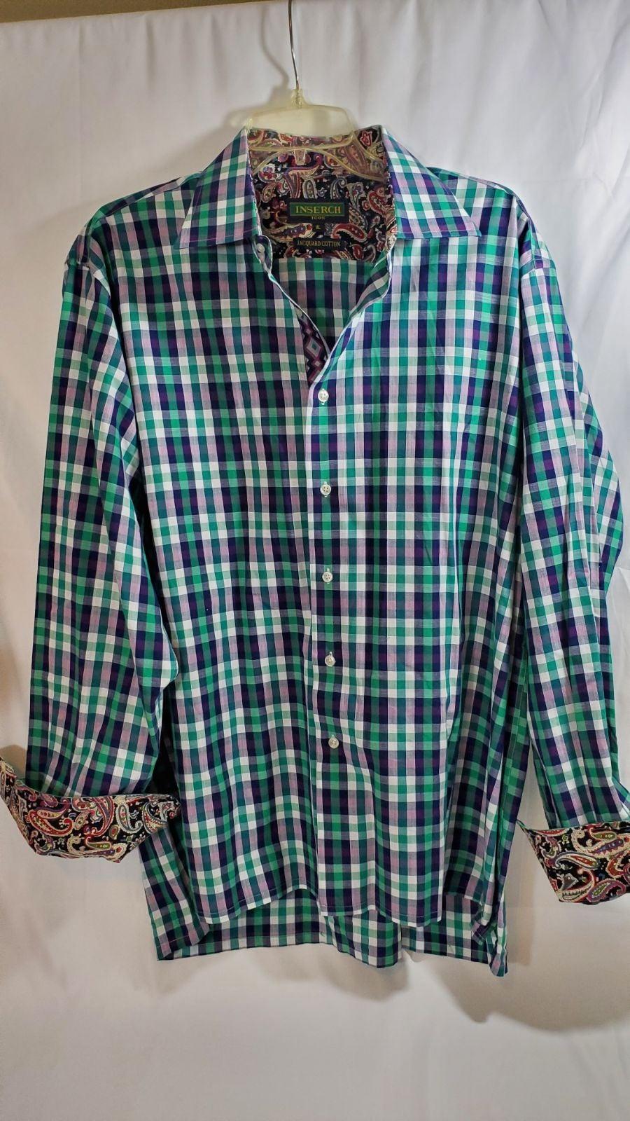 INSERCH Icon Mens XL Jacquard Cotton Lon