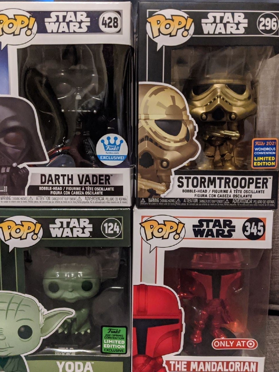Star Wars Exclusives Lot