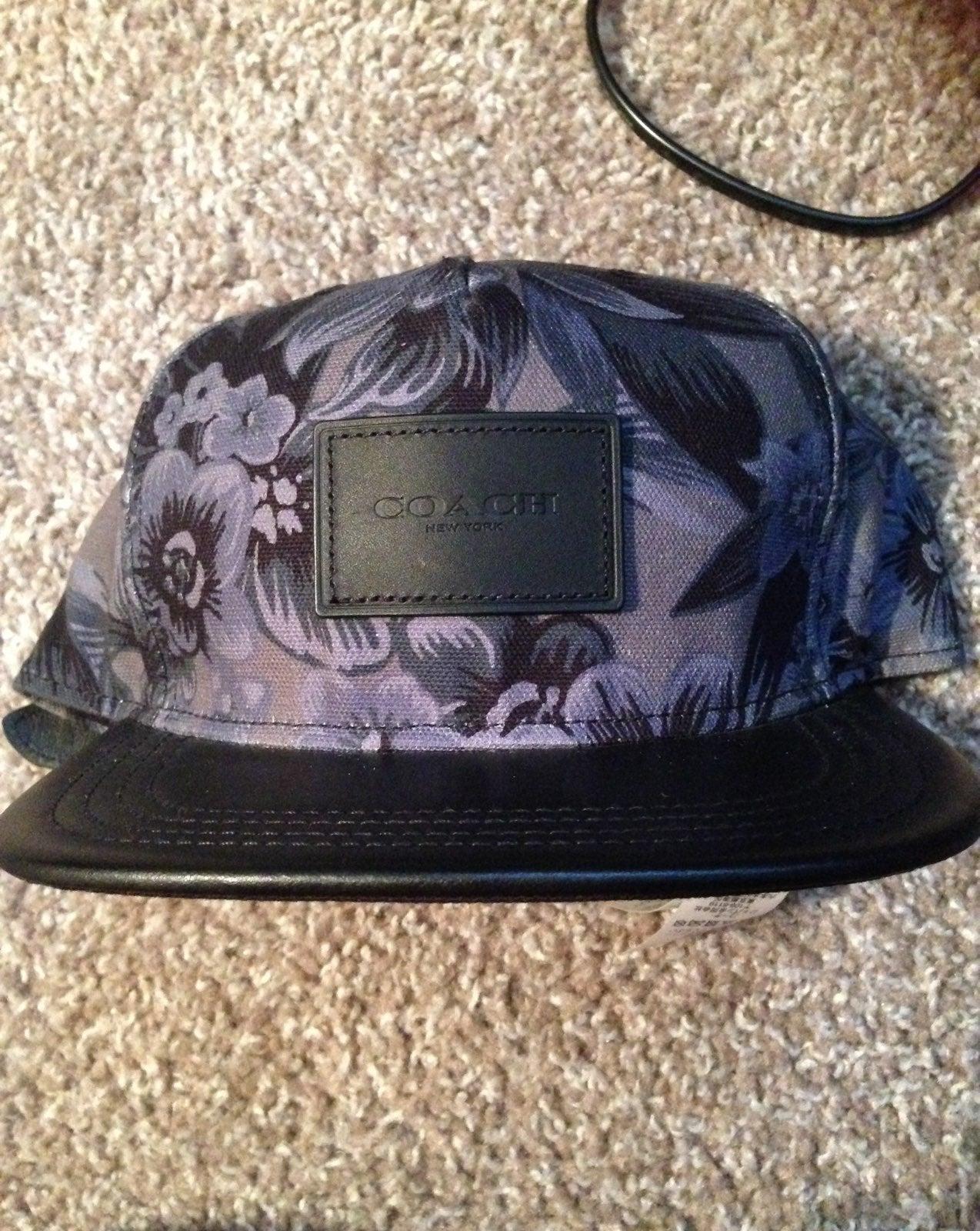 Authentic Coach Strap back Hat