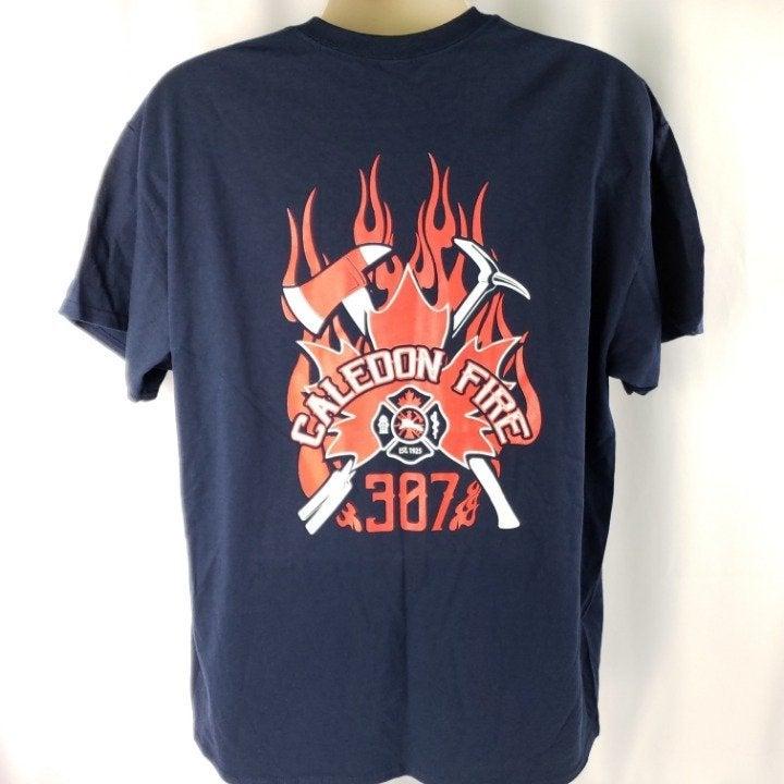 Caledon Canada Fire Department T-Shirt