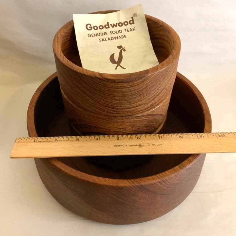 Goodwood solid teak saladware - reserved
