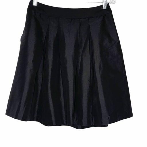 White House Black Market Skirt Black