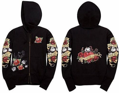 Disney Parks Mickey Mouse Tattoo Hoodie
