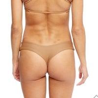 Stone Fox Swim Thong Bikini Bottoms L