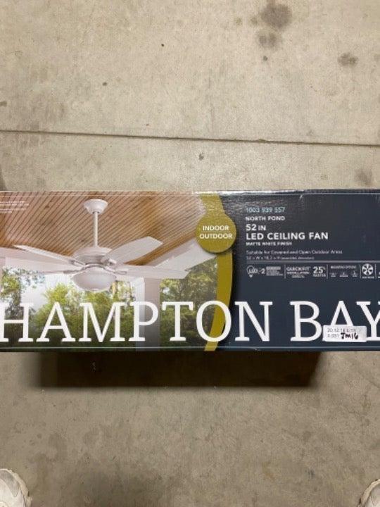 Hampton Bay 52in indoor/outdoor fan