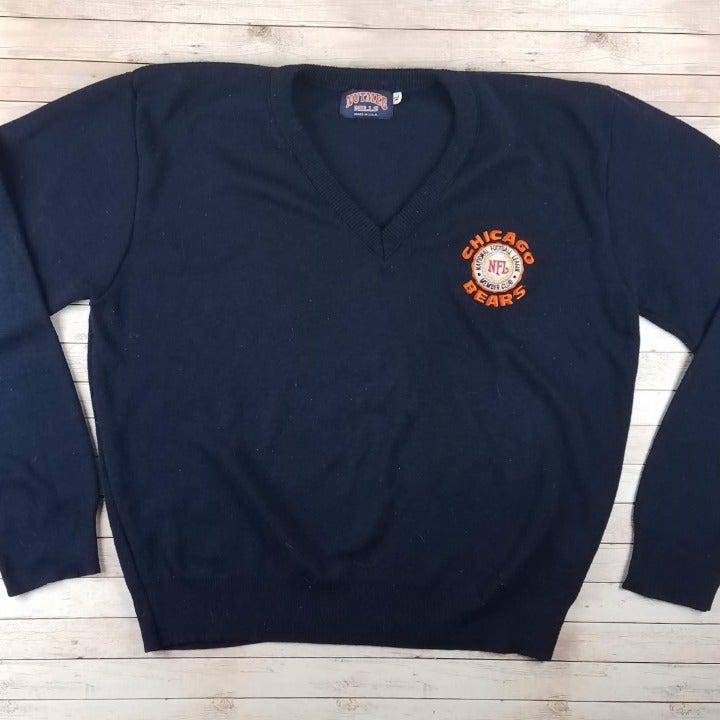 VTG 80s/90s Chicago Bears V-Neck Sweater
