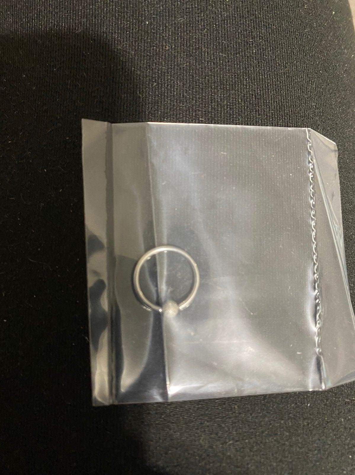 16 gauge eyebrow ring