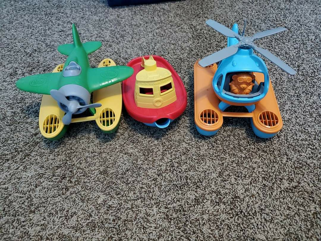 Set of 3 Green Toys