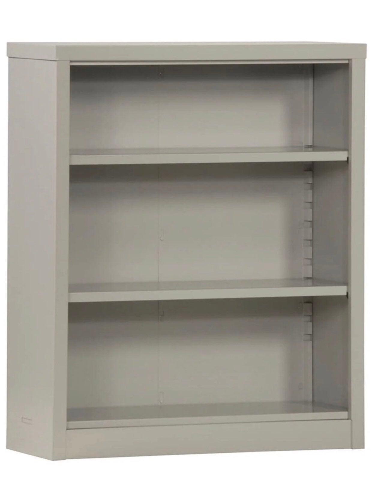 "Steel Bookcase Bookshelf 42"" Height"
