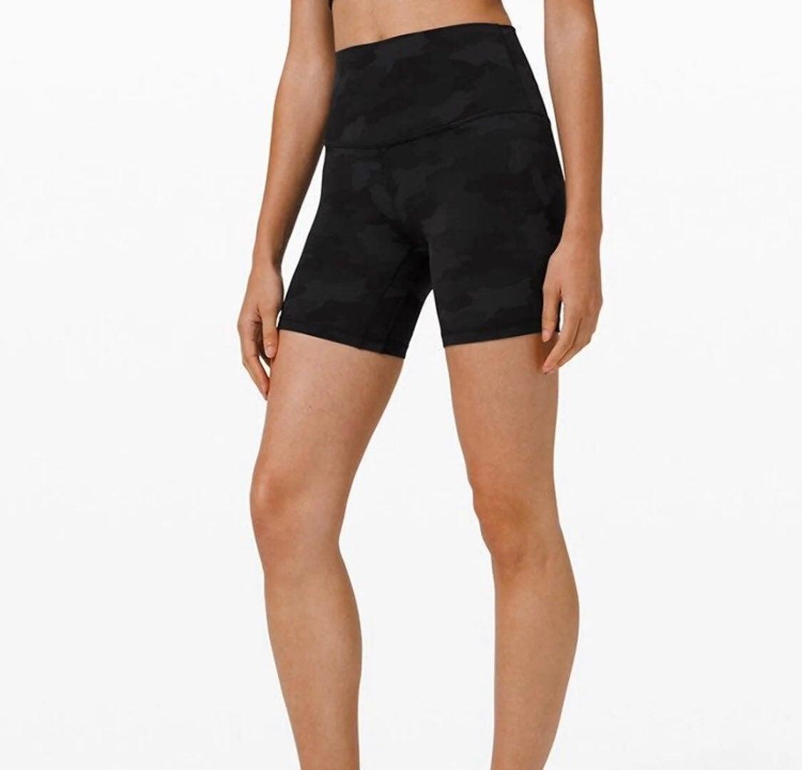 Nwt Lululemon Align shorts 365 camo 6