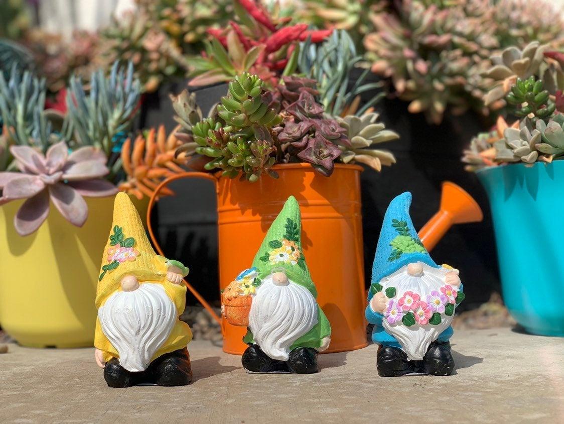 Spring Garden Gnomes Set