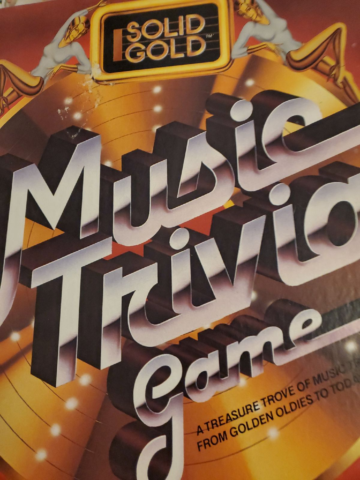 VTG IDEAL Solid Gold MUSIC TRIVIA Game