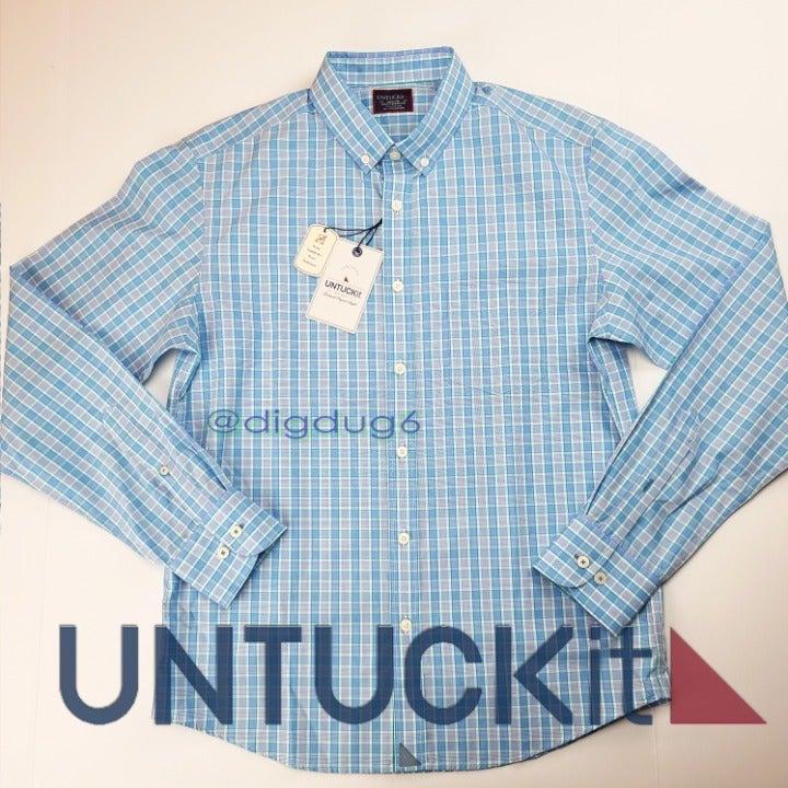 Untuckit Button Shirt - Delagrange